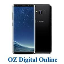 "NEW Samsung Galaxy S8+ Plus Dual Sim G955FD 64GB Black 4G 6.2"" Unlocked Phone"