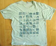 Stars The North Tour Shirt 2012 XL Derek Broad American Apparel Indie Synth Pop