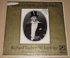 LP Dein ist mein ganzes Herz - Richard Tauber-Welterfolge - Odeon P13-74218