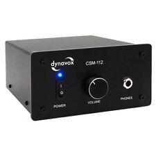 Dynavox Kopfhörerverstärker CSM-112, Schwarz, Kopfhörer Verstärker, Amp