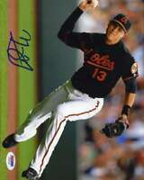 Manny Machado Psa Dna Coa Autographed 3x5 Index Card Hand Signed Authentic
