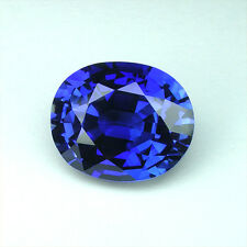 5.20cts. AWESOME BLUE SAPPHIRE OVAL VVS LOOSE GEMSTONE JEWELRY ovale saphir bleu