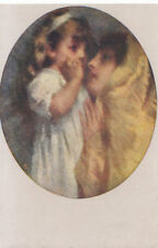 Art Postcard - Maternal Love - Young Lady and Girl - By T Cremona - Ref ZZ5632