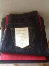 TOM FORD $1250 MENS SELVEDGE 5 POCKET STRAIGHT CUT JEANS  SZ.52 NWTAG ITALY 🇮🇹
