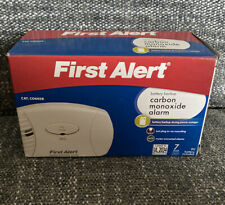 First Alert FATCO605 Carbon Monoxide Plug In Alarm with Battery Backup - White