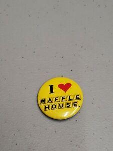 I Love Waffle House Pin
