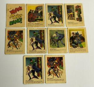 1966 Batman Australian Cereal Card Weeties & Rice Krinkles - BULK LOT - RARE!