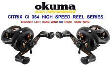 Okuma Citrix Baitcast Right Hand Multiplier Reel Ci-364a Lure Pike Bass Zander