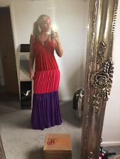 T Bags Los Angeles Cotton Heavy Thick Maxi Flattering Beach Gold Rope Tie