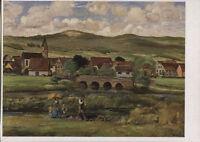 Alte Kunstpostkarte - Harald Tillberg - Fränkische Landschaft