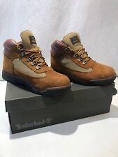 NEW Kids Timberland Flyroam Leather Boots Royal Blue UK Size 1.5-6.5