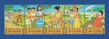 "Palau (121a) 1986 Christmas, ""Joy to the World"" Mnh strip"