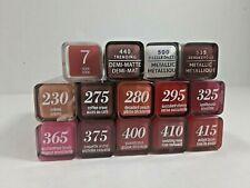 COVERGIRL COLORLICIOUS Rich Color Lipstick  0.12oz/3.5  You Choose Shade