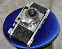 Ricoh Ricolet II Rangefinder w/45mm  Anstigmat 3.5 Lens Riken Shutter Rare 1955