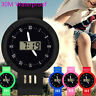 Enfants filles analogique numérique LED électronique étanche montre-bracelet