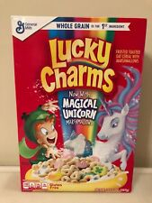 Lucky Charms Magical Unicorn Cereal General Mills Gluten Free 10.5oz Exp 8/2019*
