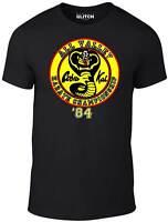Men's Cobra Kai T-Shirt - GIFT JUDO KUNG FU KARATE KID FILM MOVIE BOX SET CULT