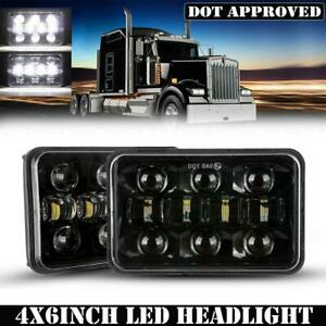 "4X6"" LED Headlight H4 Sealed Beam Lamp for Mitsubishi Fuso FM Fighter Truck 2Pcs"
