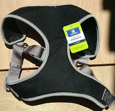 NEW TOP PAW COMFORT HARNESS, BLACK with GRAY ACCENTS. SIZE EXTRA LARGE
