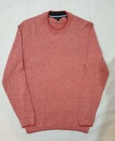 TED BAKER Women's Pink White Red Knit Jumper Size 1 Small 8