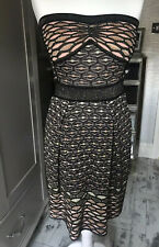M Missoni Strapless Knitted Dress. Brand New With Tags. Size Uk 6-8
