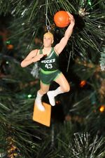 MILWAUKEE BUCKS JACK SIKMA GREEN JERSEY CHRISTMAS ORNAMENT vintage