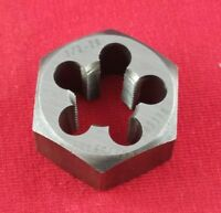 "USA Made 1/2-28 X 1-1/16"" Hex UNEF Die Rethreading Gunsmithing Carbon Steel"