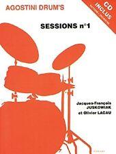 Sessions Volume 1 (drums/CD); Juskowiak, J-F & Lacau, O, FABER - MF715
