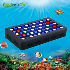 Popularow 165W Dimmable Full Spectrum LED Aquarium Light Marine Fish Reef Coral