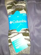 Columbia Socks 4 Pair Camouflage Size 6-12