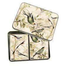 Tropical Birds Playing Cards, 2 Decks in Tin Box