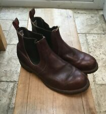 Red Wing Rancher Chelsea Boot Size UK10