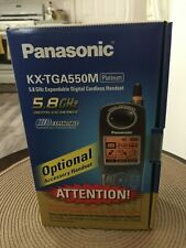 Panasonic Kx-Tga520M Platinum Cordless Handset New Sealed