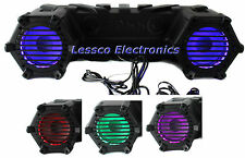Boss Amplified Sound System for ATV Wakeboard Golf Cart Jet Ski Snowmobile etc