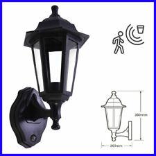LED Outdoor Coach Traditional Vintage IP44 PIR Motion Sensor Full Lantern Light