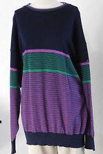 Gestreifte MÄRZ Herren-Pullover & -Strickware aus Wolle