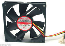 EVERCOOL 80x80x15mm 5V 3-pin Ball Bearing DC Fan EC8015M05CA