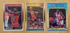 1988-89 Fleer Basketball Complete Set - Michael Jordan 3x- Sticker set included!