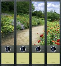Ordnerrücken Blumen Wiese Wald Ordner Ordneraufkleber Aufkleber Deko 455