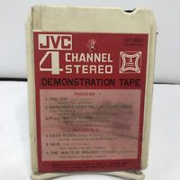 "QUAD-  JVC-""Demonstration Tape""- 8 Track Tapes DT-903"
