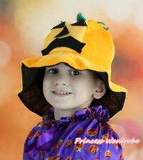 HALLOWEEN PUMPKIN COSTUME HAT MASK FUNNY PARTY CAP H75