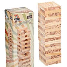 Stapelspiele Früchteturm Holz Wackelturm Stapelspiel Würfelspiel  Früchte-Turm für Kinder Neu