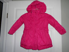 Toddler Girls Steve Madden Hooded Jacket Quilted Hot Pink Size 3T