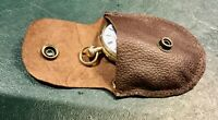 Kangaroo  Leather pocket watches case pouch Australian made