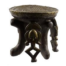 Tabouret siège Kota Gabon Afrique Cuivre reliquaire Art africain ancien 16533