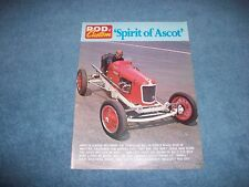 """Vintage Dirt Track Sprint voiture article """"esprit d'Ascot"""" Riley 2-Port"""