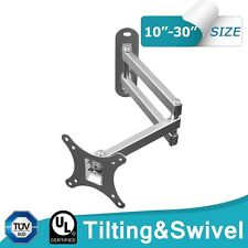 universal Soporte pared inclinable giratorio para TV LCD Plasma vesa 75 100 #74
