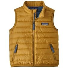 patagonia Baby Down Sweater Vest Glyph Gold 3 T