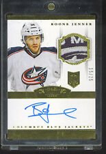 BOONE JENNER 2013-14  DOMINION AUTO  PATCH GOLD RC 15/25 ROOKIE