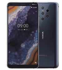 """Nokia 9 PureView DUAL SIM ta-1087 Android ONE SMARTPHONE 128gb 6gb 5,99"""" 15,2cm"""